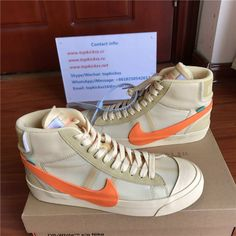 Off White x Nike Blazer All Hallows Eve from topkickss.cc 88a7939c4
