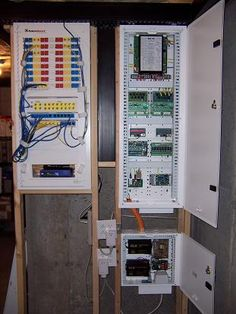 whole house structured wiring networking set ups cabinets cat5 network wiring diagrams my home theater security
