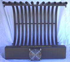 24GRT+RAW+Fireplace+Grate+Heater+Heat+Exchanger+Blower