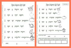 Little Literacy Learners: It is Fall!! FREEBIE (for a limited time!)