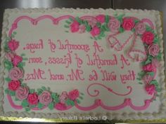 bridal shower cakes - Google Search