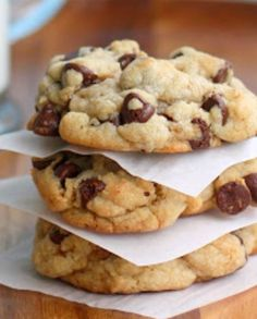 Just in case you needed a perfect chocolate chip cookie recipe.