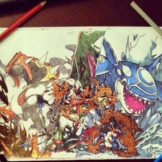 #pokemon Omega Ruby/Alpha Sapphire Fan Art