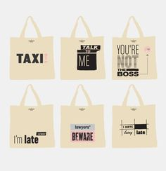 Design your own unique tote bags with your own design. | Pinterest