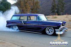 1956 Chevy burnout....