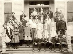Baily Street Students, 1907