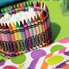 i lubb crayons. -- 35 uses for crayons!