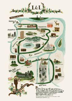 手繪地圖之 屬於我倆的幸福旅程