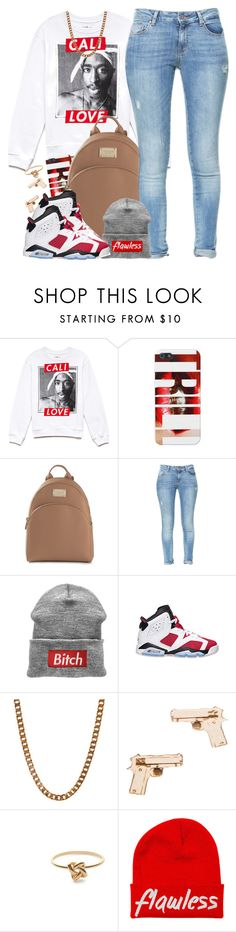"""""""Cali Love"""" by oh-aurora ❤ liked on Polyvore featuring Forever 21, Michael Kors, Zara, Retrò, Lovebullets, GoodWood, Jeweliq, women's clothing, women and female"""