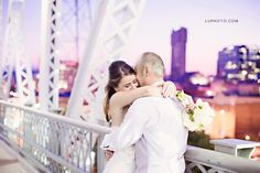 Anita & Chris Wedding, Shelby Street Bridge, Downtown Nashville, TN Visit http://lupho.to/anita-chris-wedding-shelby-street-bridge-downtown-nashville-tn and leave a message for the couple LUPHOTO.COM  Don't forget to like our page http://www.facebook.com/luphoto #luphoto #nashville #nashvillewedding #shelbystreetbridge #wedding #bbkings — at Shelby Street Bridge.