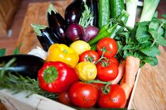 Vine and the Olive » Market Fresh Produce