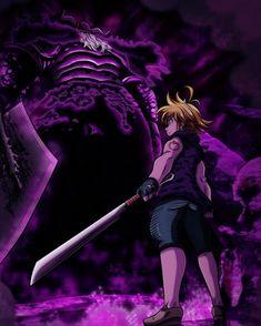 Meliodas vs Demon King -NNT by on DeviantArt Seven Deadly Sins Anime, 7 Deadly Sins, Otaku Anime, Manga Anime, Anime Art, Anime Angel, Wizyakuza Anime, Meliodas Vs, Demon King Anime