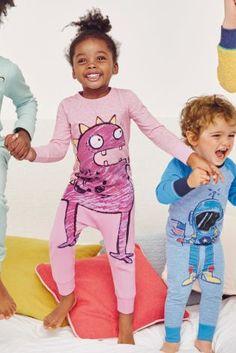 67447298d4798 Acheter Lot de deux pyjamas motif monstres roses (12 mois - 8 ans)  disponible
