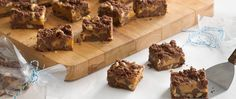 I7 Double-Chocolate and Caramel Bars (Cookie Exchange Quantity)indulge ...