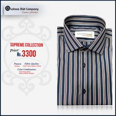 LSC customers make their own style statement by designing their shirt according to their preferences of styling and sizing.  To place an order simply call us or leave a message  #style #patterns #suting #clothing #fashion #shopping #mensclothing Show less