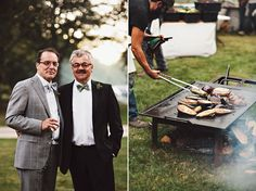 Nadine & Joe | Rustic Fall Wedding in the Berkshires | Snippet & Ink…
