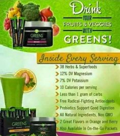 Wow! Check out the amazing beneficial all natural ingredients in the It Works! Greens on the Go! Good tasting, and good for you! See how you can mix with It Works! ProFit...yummm! #itworksgreens #itworksgirl #itworks