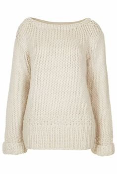**Slouchy Handknit Jumper by Unique - Personal Shopper Rachel's Look Of The Day  - New In