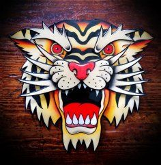 Tiger Head traditional