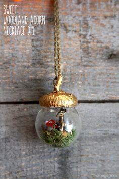 Sweet-Woodland-Acorn-Necklace-DIY