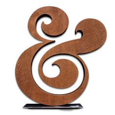 Image of PREMIUM WOOD AMPERSAND 18""