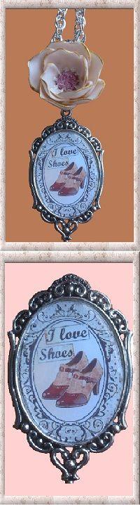 28 € ❄ B294 ❄ VENTE EN LIGNE sur ALittleMarket #GabyFéerie #bijouxcollier #bijouxrétro #bijouxmode #bijouxparis #bijouxfleurs #porcelainefroide #bijouxromantique #bijouxfaitmain  #FJV_Jewelry #necklace #retro #fashion #paris #flowers #coldporcelain #romantic #handmade #singlemodel