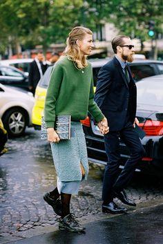 Paris Fashion Week SS 2014....Veronika