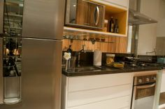 French Door Refrigerator, Kitchen Decor, Kitchen Appliances, Home, Cob House Kitchen, Kitchen Small, Homes, Profile, Diy Kitchen Appliances