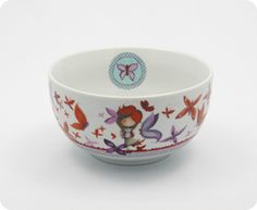 Bought one for my butterfly girl today! - Bol Ketto en céramique - fille papillon / Ketto's ceramic bowl - butterfly girl  www.kettodesign.com