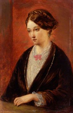 Unknown woman, formerly known as Florence Nightingale, Augustus Leopold Egg