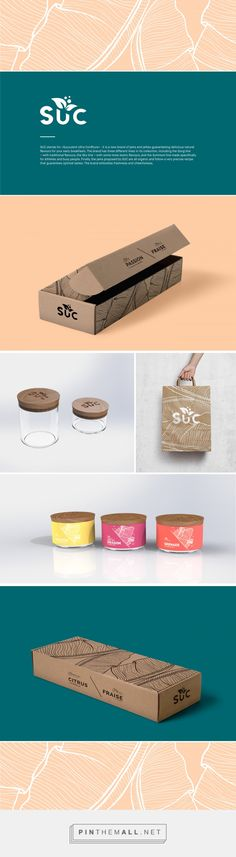 SUC Jams and Jellies Logo and Branding by Caroline Sutter | Fivestar Branding Agency – Design and Branding Agency & Curated Inspiration Gallery