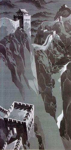 Alex Nino - Mulan concept art! This is amazing!