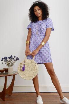 91b79ff74b Get Knotted Shift Dress - Mayamiko Sustainable Fashion A Line Cut