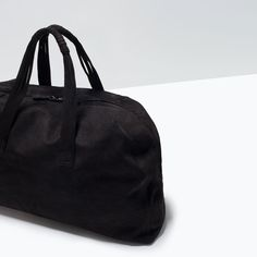 ZARA - MAN - LEATHER BOWLING BAG