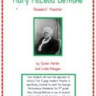 Susan Hardin's Readers' Theater: Mary McLeod Bethune- $6.00 - 16 page readers theater specifically created for Georgia's curriculum needs, but will fit for any curriculum. Enough parts for whole class participation! Make your history lessons EXCITING and your students BEGGING for MORE!