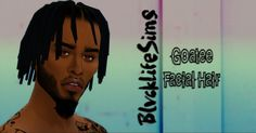 Sims 4 CC's - The Best: Goatee Facial Hair by blvck life simz
