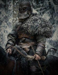#man #archer #riding