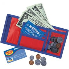 Pretend & Play® Cash 'n' Carry® Wallet, LER0088