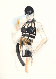 Modeconnect.com - Fashion Illustration by Erin Petson