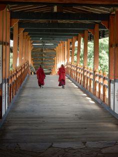 Boy Monks in Bhutan.