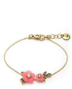 HIBISCUS FLOWER WISH BRACELET - Juicy Couture