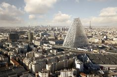 Paris Might Build A Modern Glass Tower—And Some People Are Furious