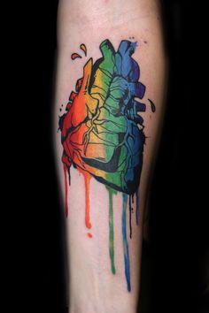 Gay tattoo art