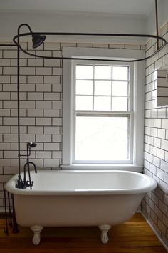 40 best clawfoot tub shower images bathroom bathroom ideas rh pinterest com