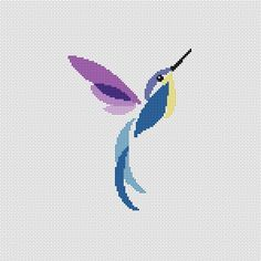 Instant Download,Free shipping,Cross stitch pattern, PDF,humming bird,ZXXC0147 by danceneedle on Etsy https://www.etsy.com/uk/listing/97371762/instant-downloadfree-shippingcross