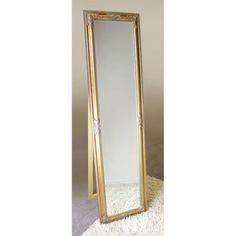 This stunning Rocco Cheval Floral Gold Frame Freestanding Mirror offers a lasting option and gives your space a furnished effect in a delightful manner. House Of Mirrors, Contemporary Bedroom, Modern Contemporary, Spiegel Gold, Freestanding Mirrors, Cheval Mirror, Ornate Mirror, Furniture Catalog, Ideas