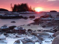 maine coast | Maine coast winter | Flickr - Photo Sharing!