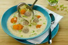 KohlrabiEintopf... Bund Suppengrün statt Würfel... und Reis dazu!!!