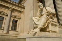 Statue, Herodot, Sculpture, Herod, Philosophy, Thought