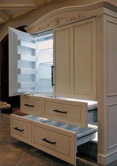 Buzdolabının en güzel saklanmış hali